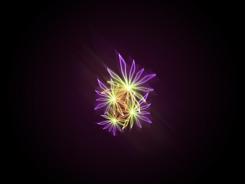 Glow Flower 2 by Susanne123