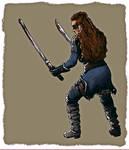 warrior's stance