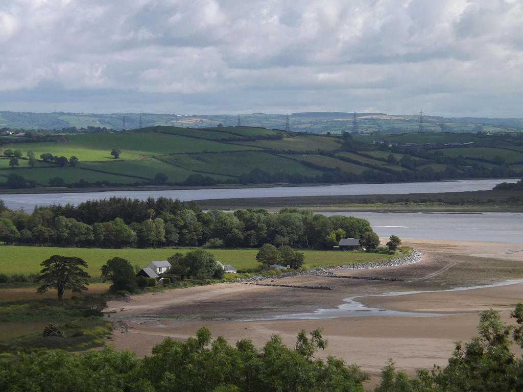 beach and estuary leading to river by nonyeB