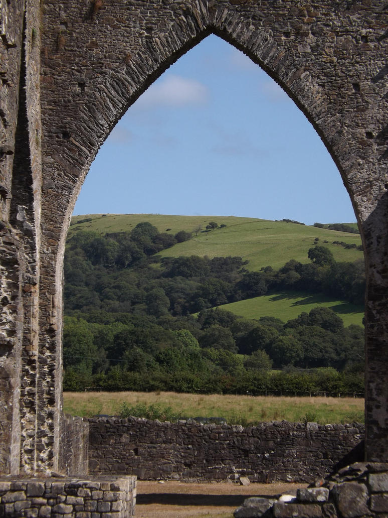 an archway full of landscape by nonyeB