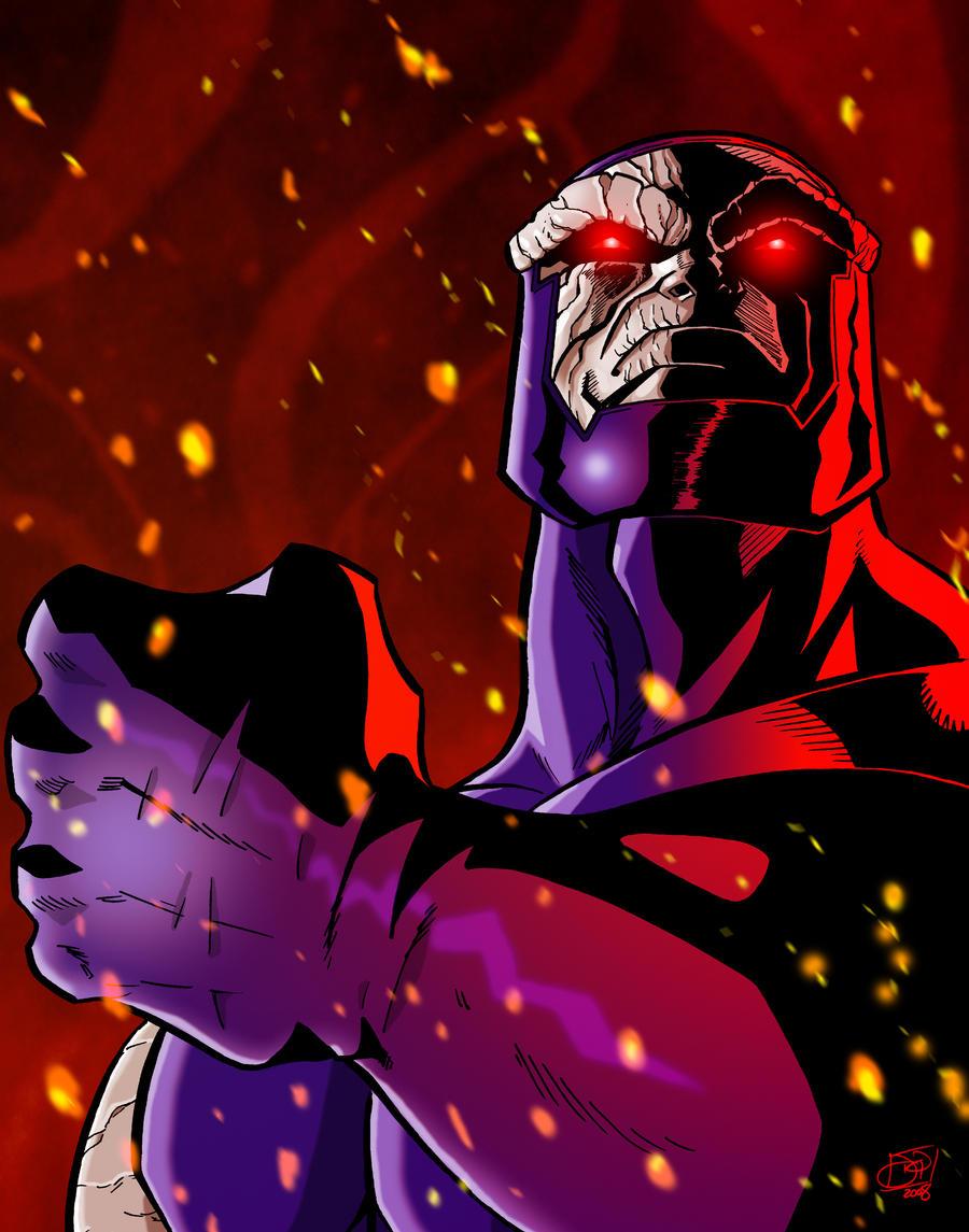 Darkseid by Kenpudiosaki