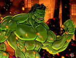 Hulk Color Sketch