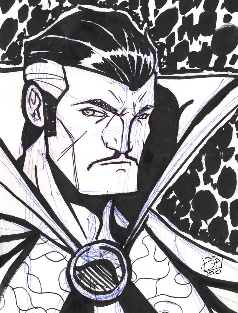 Doctor Strange Sketch by Kenpudiosaki