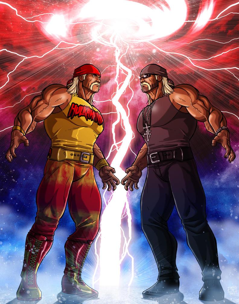 Hulk vs Hulk by Kenpudiosaki