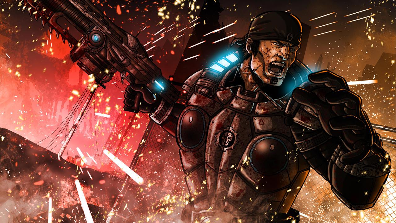 Gears 3 Wallpaper by Kenpudiosaki