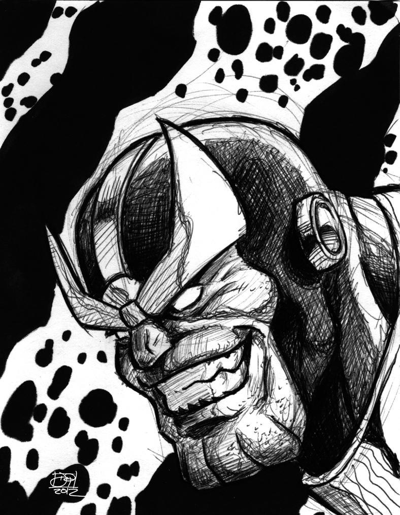 Thanos Sketch By Kenpudiosaki On DeviantArt
