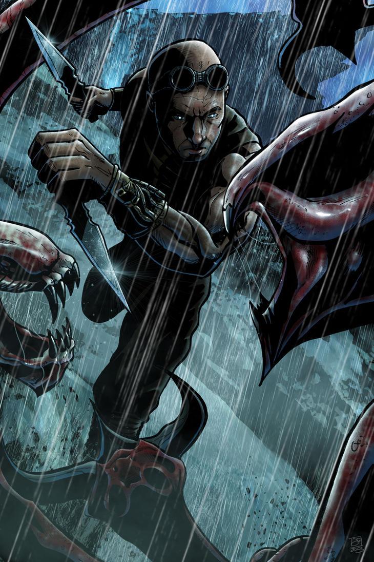 Riddick by Kenpudiosaki