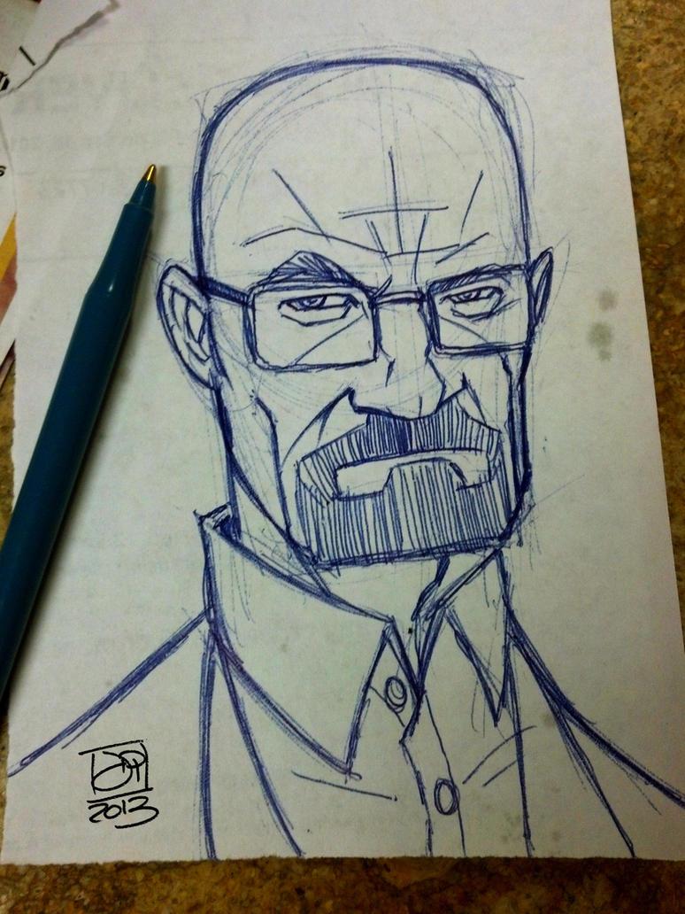 Breaking Bad Doodle Original by Kenpudiosaki on DeviantArt