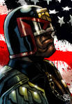 Dredd Color Sketch
