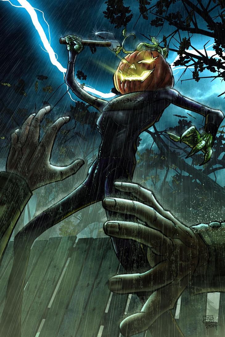 Pumpkin Guy 2014 by Kenpudiosaki