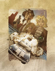 Gunsmith Cats by Kenpudiosaki
