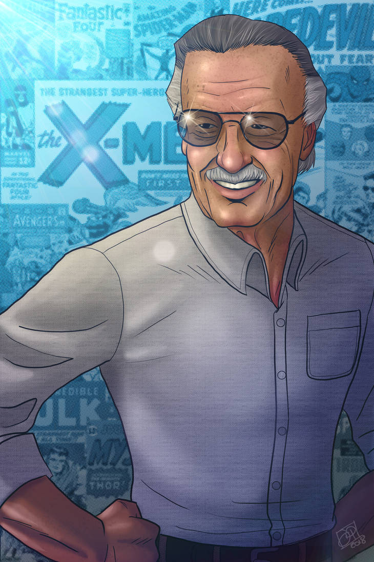 Stan Lee Tribute by Kenpudiosaki
