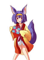 No Game No Life - Hatsuse Izuna by winterwolf38