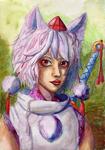 Momiji - Watercolor 2 by winterwolf38