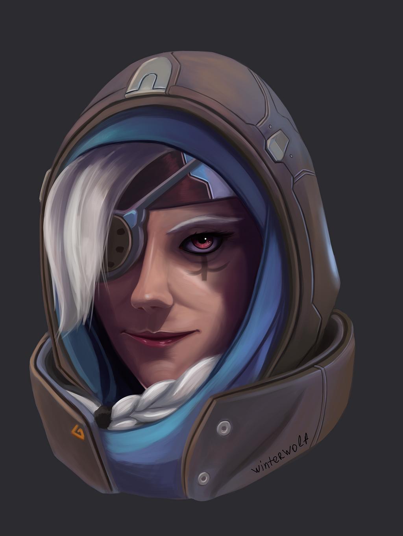 Ana Overwatch by winterwolf38