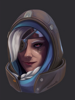 Ana Overwatch by winterwolf38