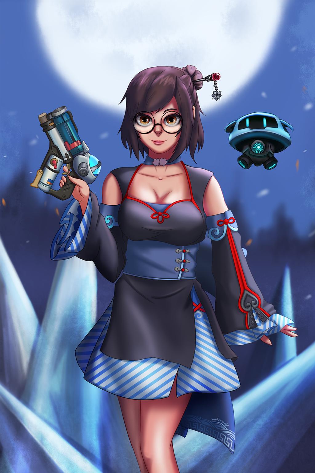 Mei Overwatch by winterwolf38