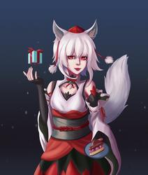 Inubashiri Momiji Gift by winterwolf38
