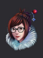 Overwatch Mei by winterwolf38