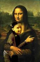 Mouna Lisa by Vigasse