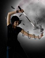 Ninja Raven by Vigasse