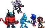 Sonic Forces - Infinite and his Replicas