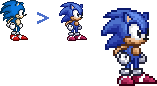 Classic Sonic Resprite by Lisnovski