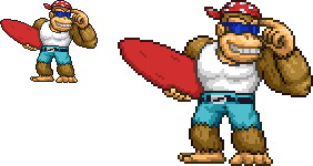 Funky Kong Sprite *COMMISSION*