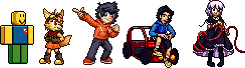May 2018 Sprites + Commissions by Lisnovski