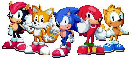 Sonic Mania Plus by Lisnovski