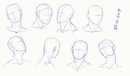 head angles 3 by Gemmabee