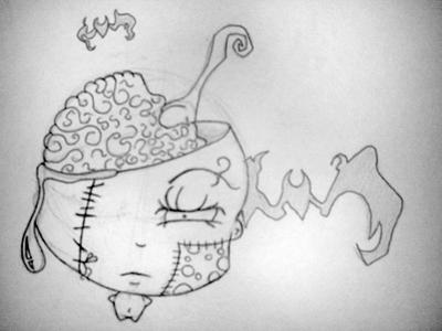 Sketch: Tattoo Design - chest tattoo