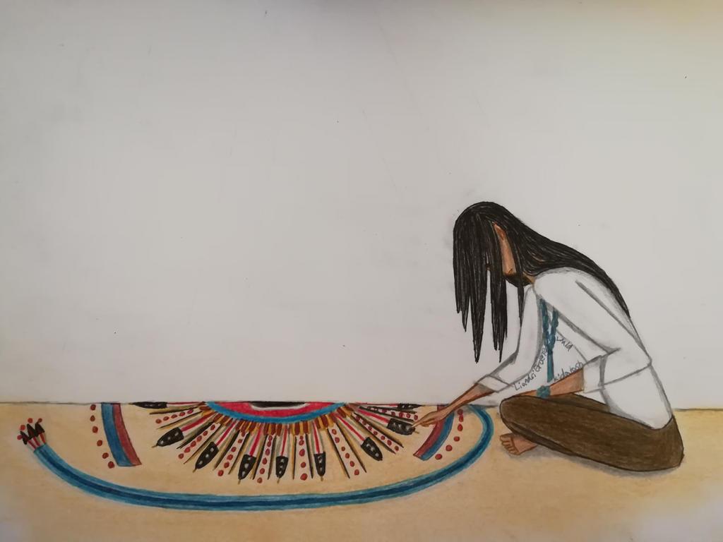 The Sand Painting(Finished) by xKidatashx