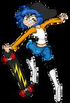 Vanessa: Skater Extreme!