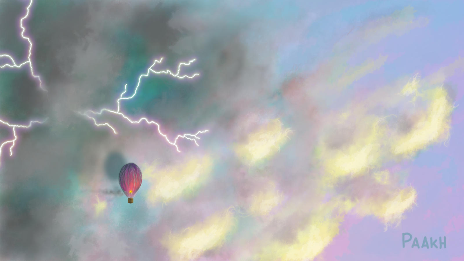 Ballooning by Kajenx