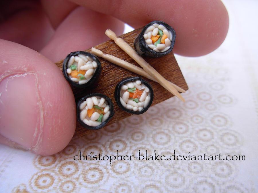 Sushi Pin II by abohemianbazaar