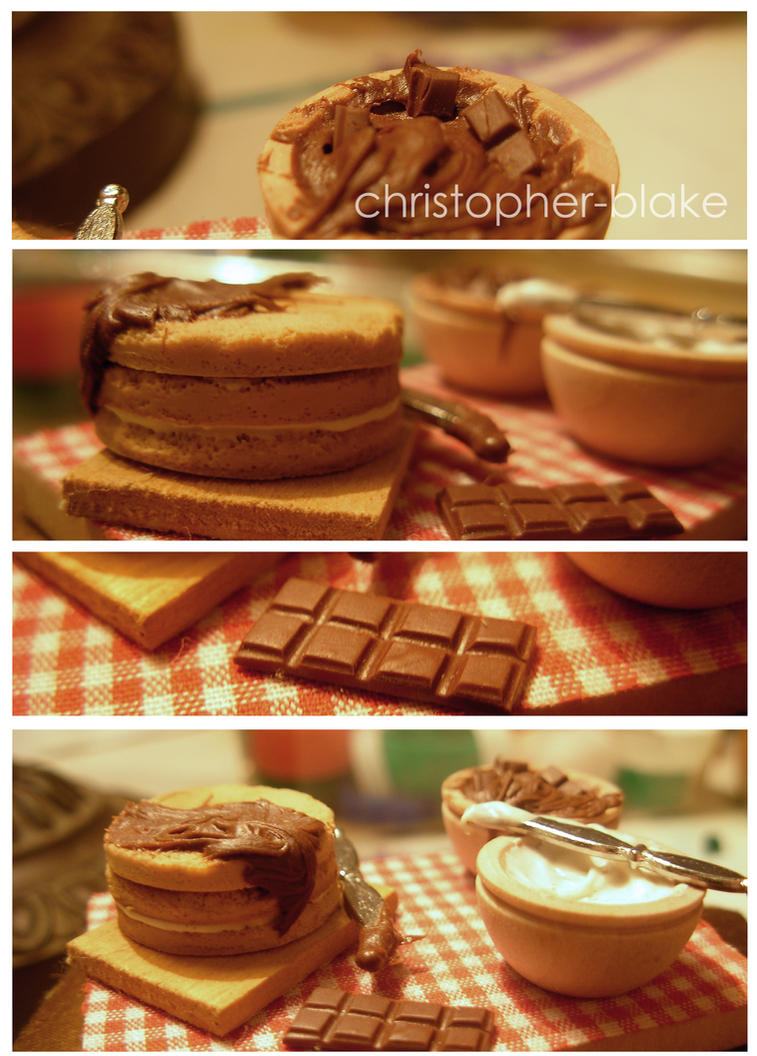 Chocolate Cake Prep Board by abohemianbazaar