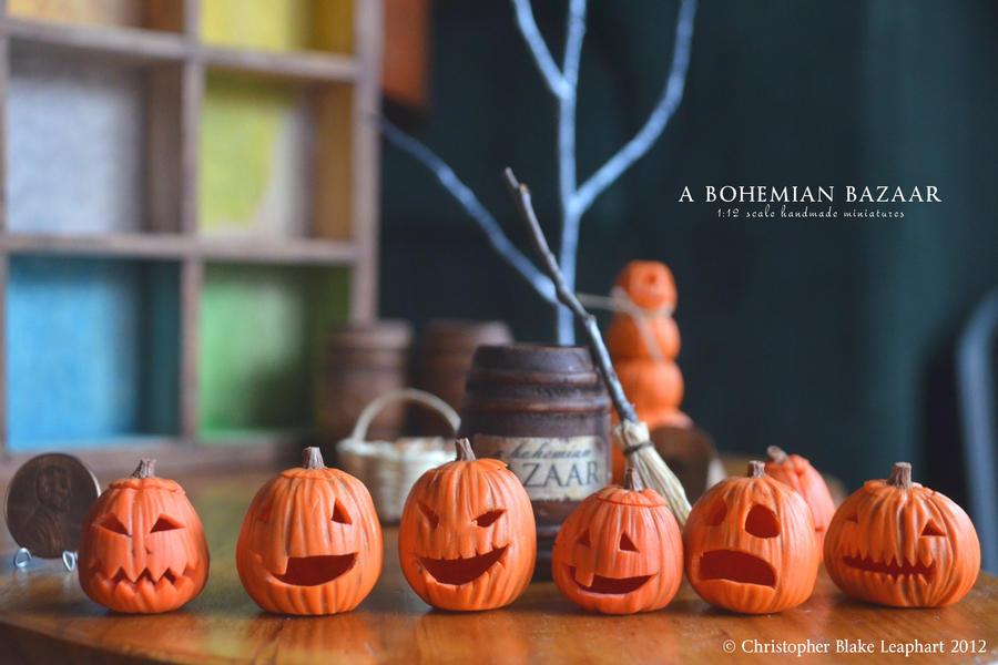 Jack O'Lanterns! by abohemianbazaar