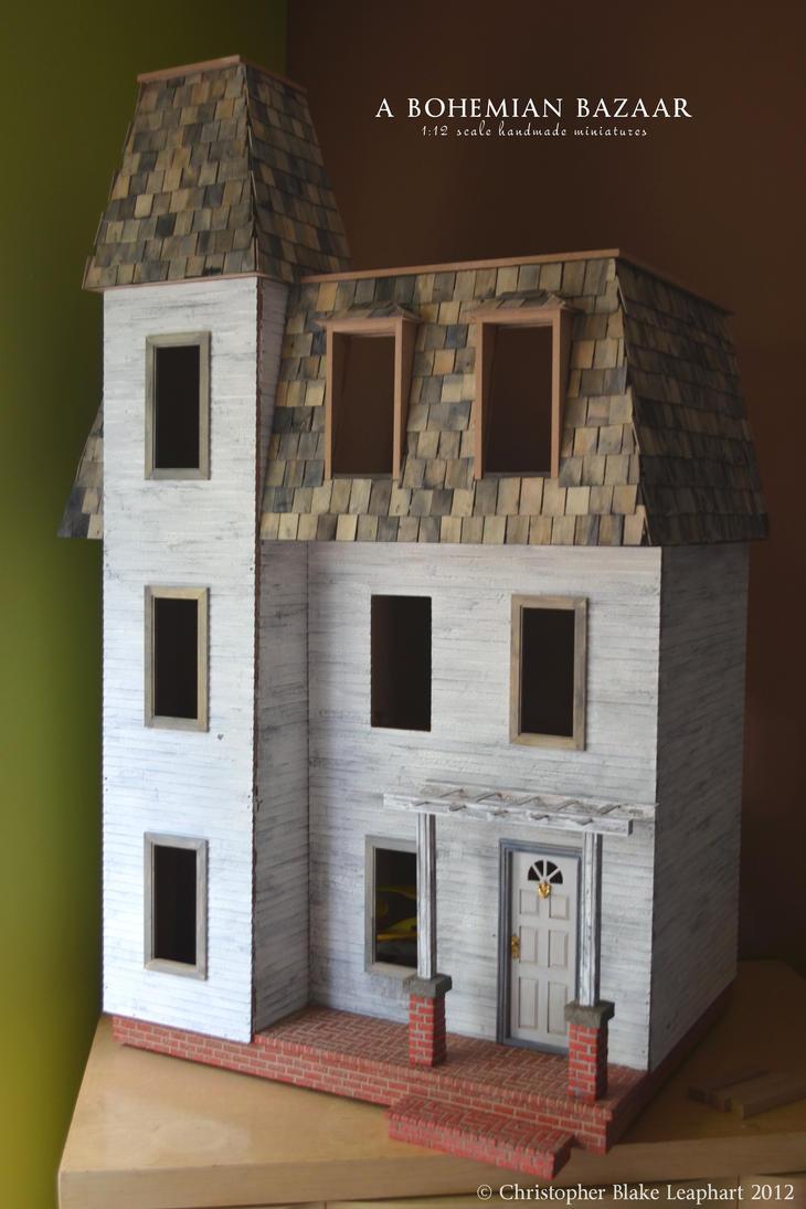 Model House Build Wip Iv By Abohemianbazaar On Deviantart
