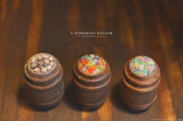 Barrels of Candy! by TheMiniatureBazaar