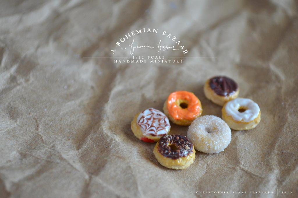 halloween doughnuts - 2013 by abohemianbazaar