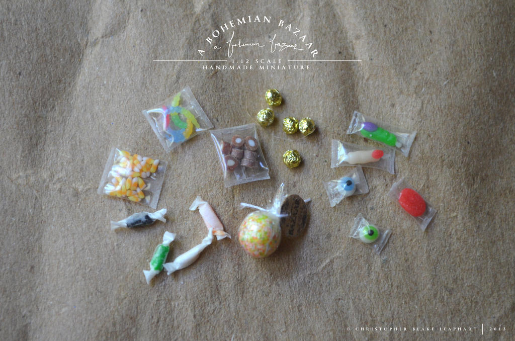 assorted candies - 1:12 scale miniature by abohemianbazaar