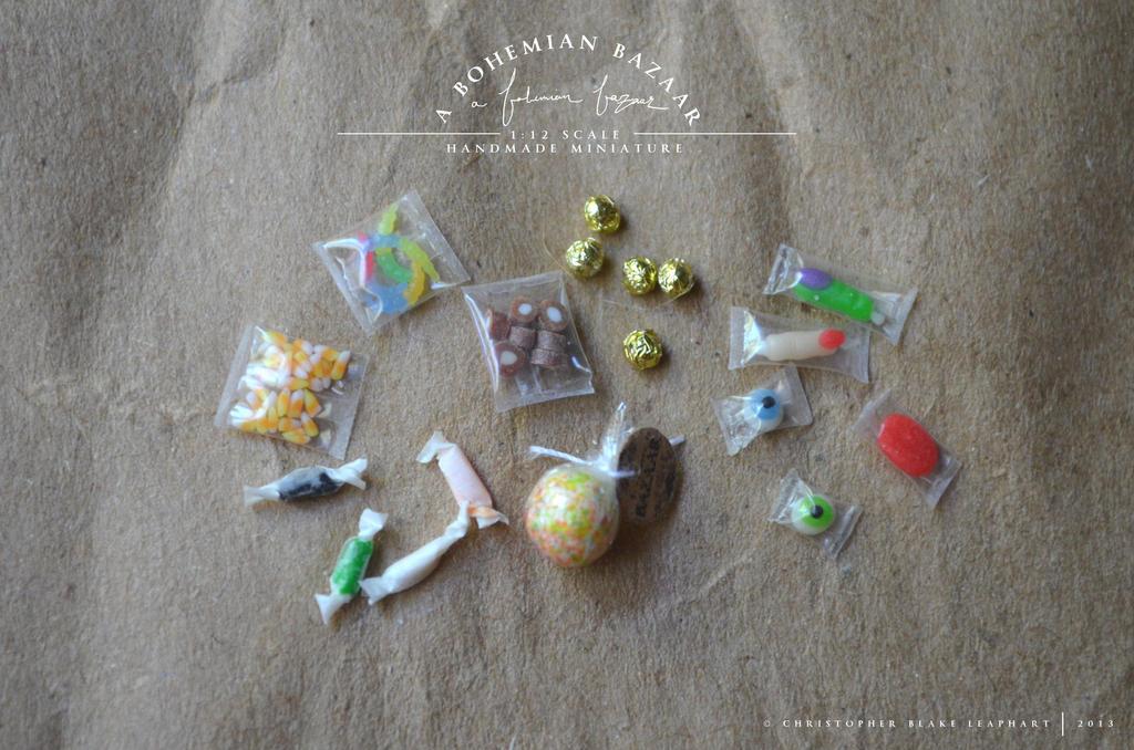 assorted candies - 1:12 scale miniature by abohemianbazaar