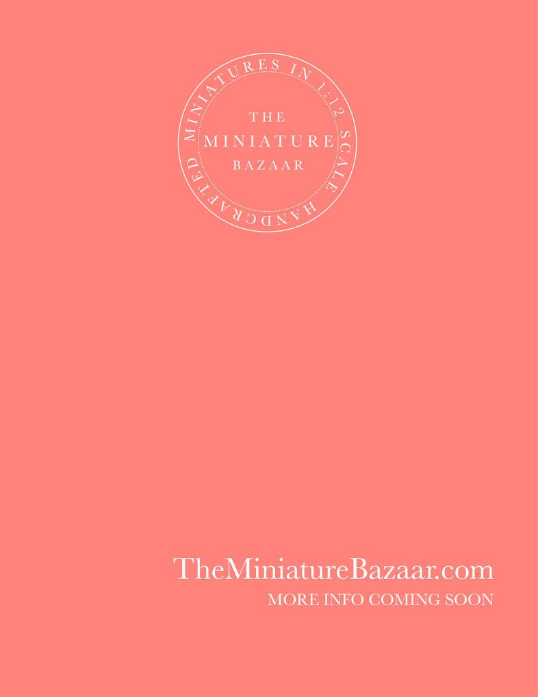 The Miniature Bazaar | Relaunch Information Below by TheMiniatureBazaar