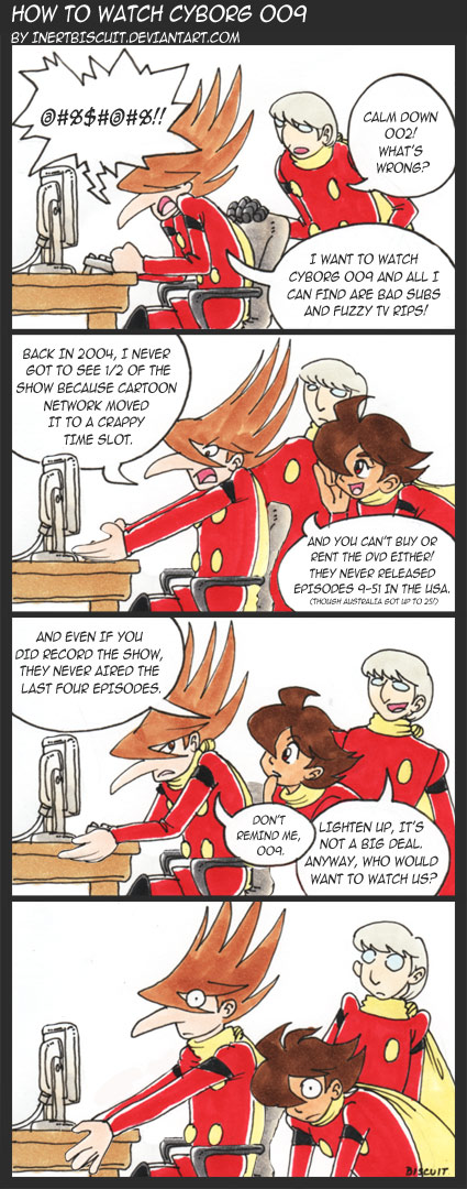 How to Watch Cyborg 009 by inertbiscuit