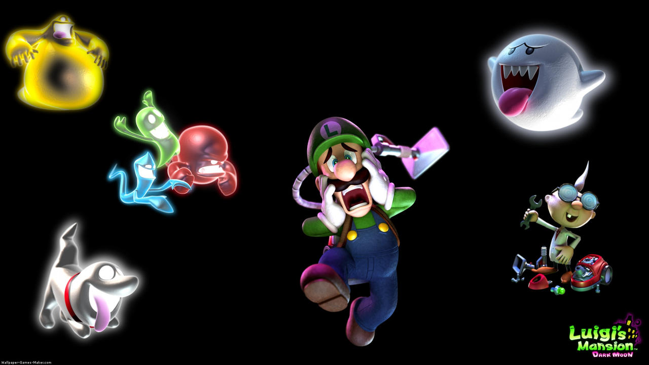 Luigi S Mansion Dark Moon Wallpaper By Alexmination98 On Deviantart
