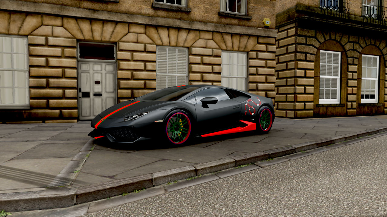 Gucci Lamborghini From Forza Horizon 4 by KingKazunaCars on