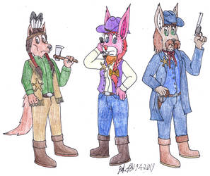Victorian Era Sheriffs by TheLokieRooGaming