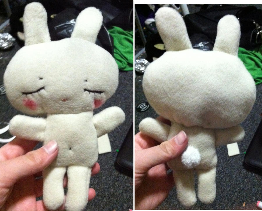 my Bunny Plushie c: by dancemove