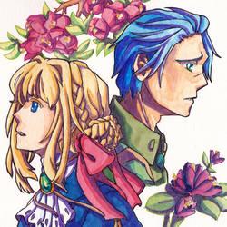 Violet Evergarden Fanart by rainbow010101